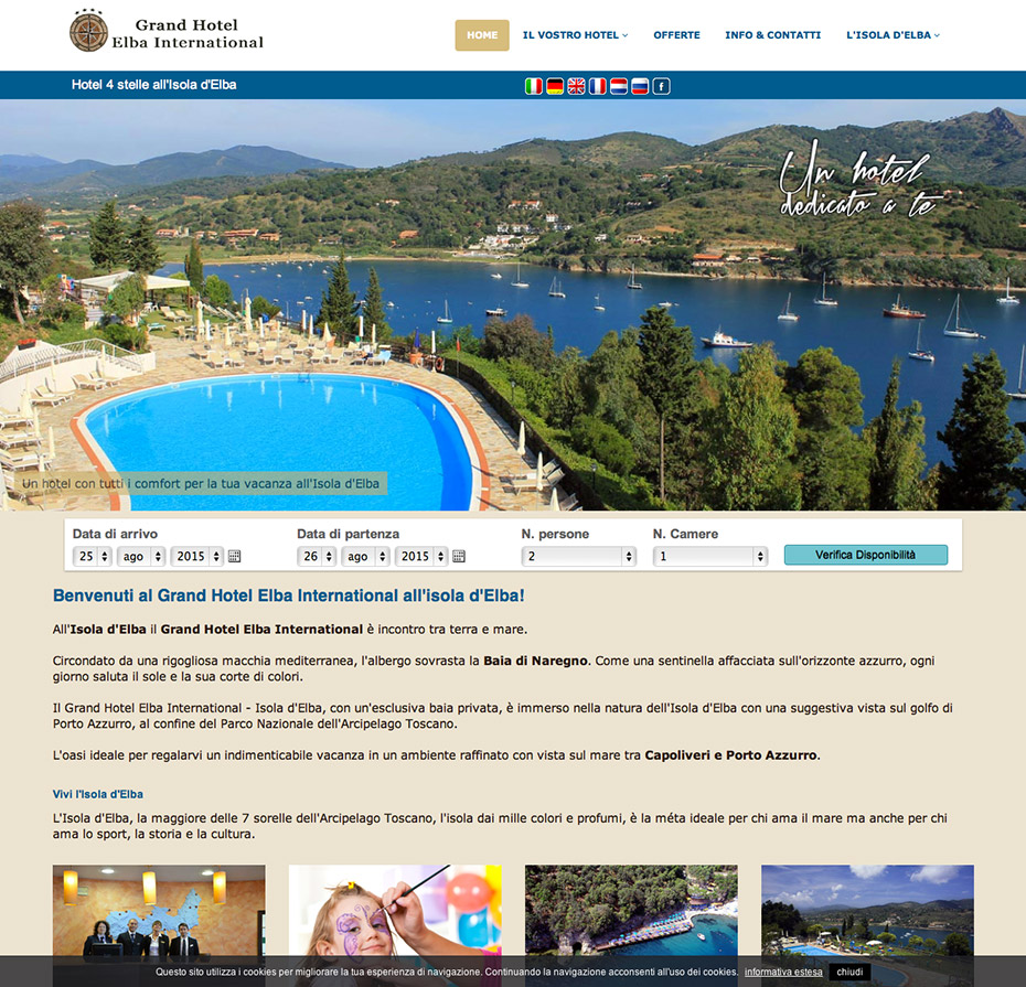 Hotel Elba International - Isola d'Elba